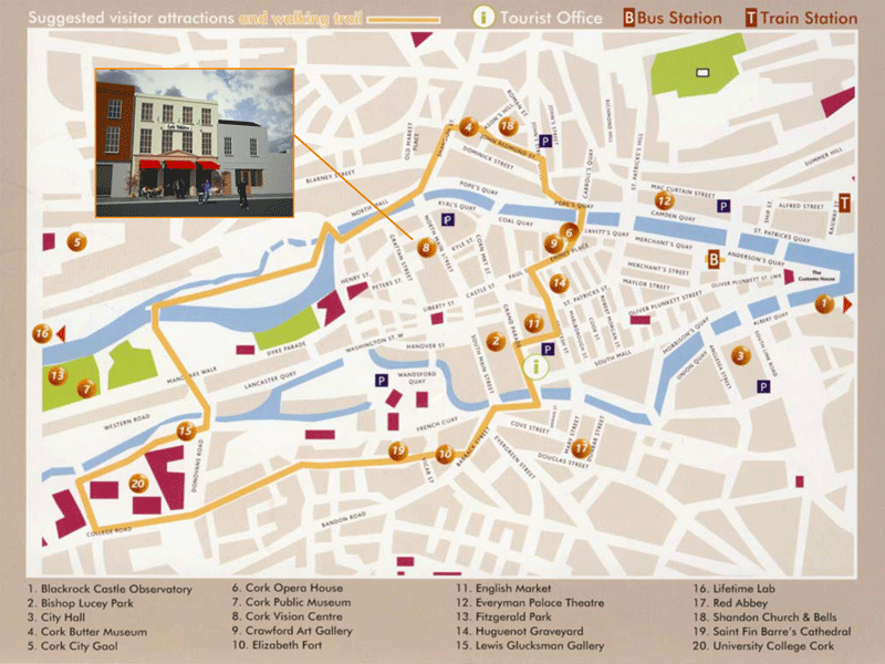 Image of the Property Pensions project at Adelaide Street, Cork