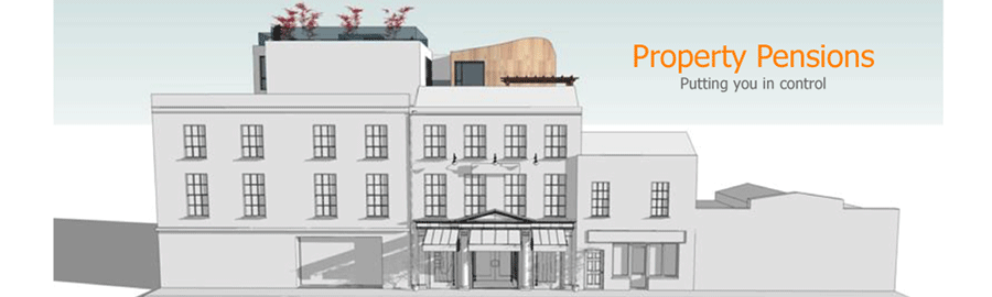 property pensions adelaide street cork header showing front elevation of project